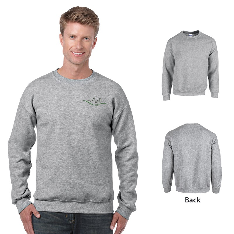 Gildan 18000 Heavy Blend Classic Fit Adult Crewneck Sweatshirt