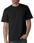 Gildan 2000 black colored t-shirts.