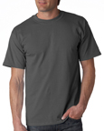 Gildan 2000 charcoal colored t-shirts.