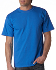 Gildan 2000 royal blue colored t-shirts.