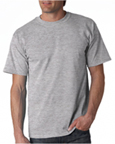 Gildan 2000 sportsgrey colored t-shirts.