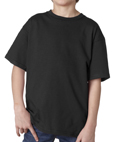 Black colored Gildan 2000B Youth Ultra Cotton T-Shirts for Kids. Order custom printed t-shirts for schools, camps and special events.