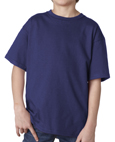 Purple colored Gildan 2000B Youth Ultra Cotton T-Shirts for cub scout packs.