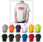 Gildan 2000B Youth Ultra Cotton t-shirts for Kids. Order custom printed t-shirts for sports teams.