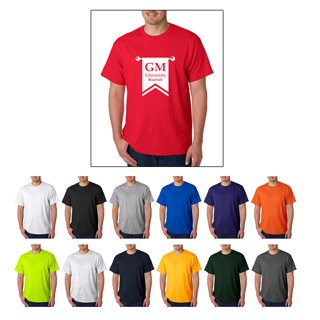 Gildan 5000 t-shirts starting at $3.11 each. Custom printed Gildan 5000 t-shirts.