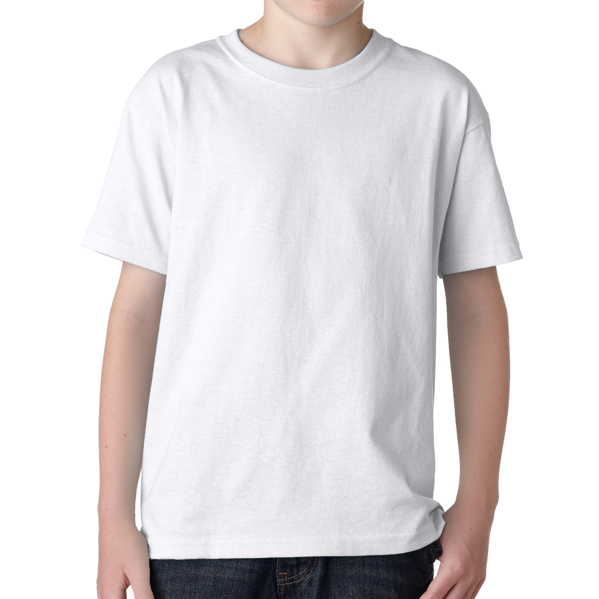 Gildan 5000Y Heavy Cotton T-Shirts for Children.