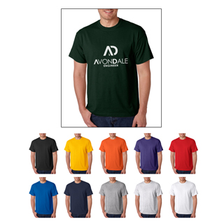 Gildan 8000 t-shirts starting at $3.29 each. Custom printed Gildan 8000 t-shirts.