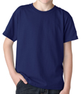 Purple colored Gildan 8000B Youth DryBlend Cotton/Polyester t-shirts for cub scout packs.