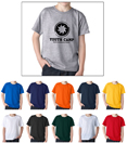 Gildan 8000B Youth Ultra Cotton t-shirts for Kids. Order custom printed t-shirts for sports teams.
