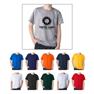 Gildan 8000Y Youth Dry Blend T-Shirt for kids. Custom t-shirts for children.