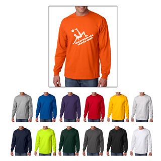 Gildan 2400 long sleeve t-shirts starting at $6.89 each. Custom printed Gildan 2400 t-shirts.
