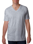 Next Level N3200 Heather Gray colored t-shirts.