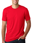 Next Level n3600 Red colored t-shirts.
