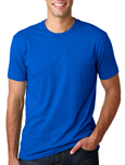 Next Level N3600 royal colored t-shirts.