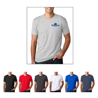 Next Level #N3600 Fitted Shirt-Sleeve Crew Neck T-Shirt.
