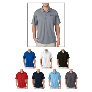 UltraClub #8210 Men's Cool and Dry Mesh Pique Polo Shirt.