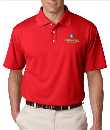 #8445 UltraClub Men's Cool & Dry Stain-Release Performance Polo Shirt