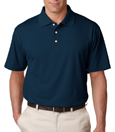 Navy Color - UltraClub 8445 Men's Cool & Dry Stain-Release Performance Polo Shirt.