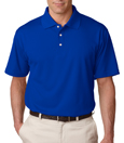 Royal Blue color - UltraClub 8445 Men's Cool & Dry Stain-Release Performance Polo Shirt.